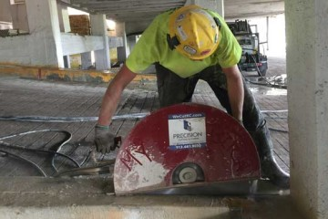 Concrete Hand Sawing