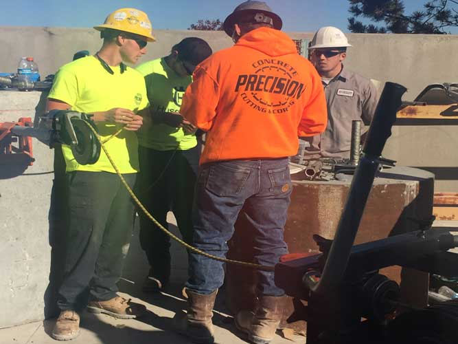 Concrete Sawing and Drilling Association Training