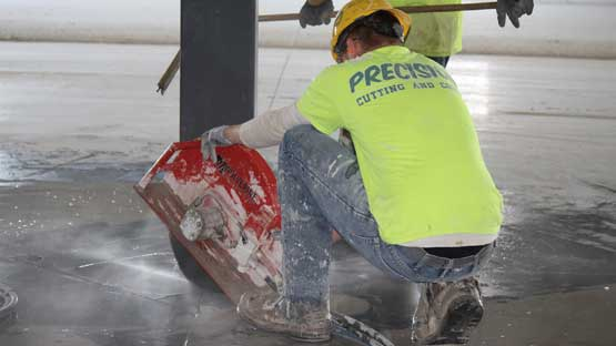 Hand Cutting Concrete