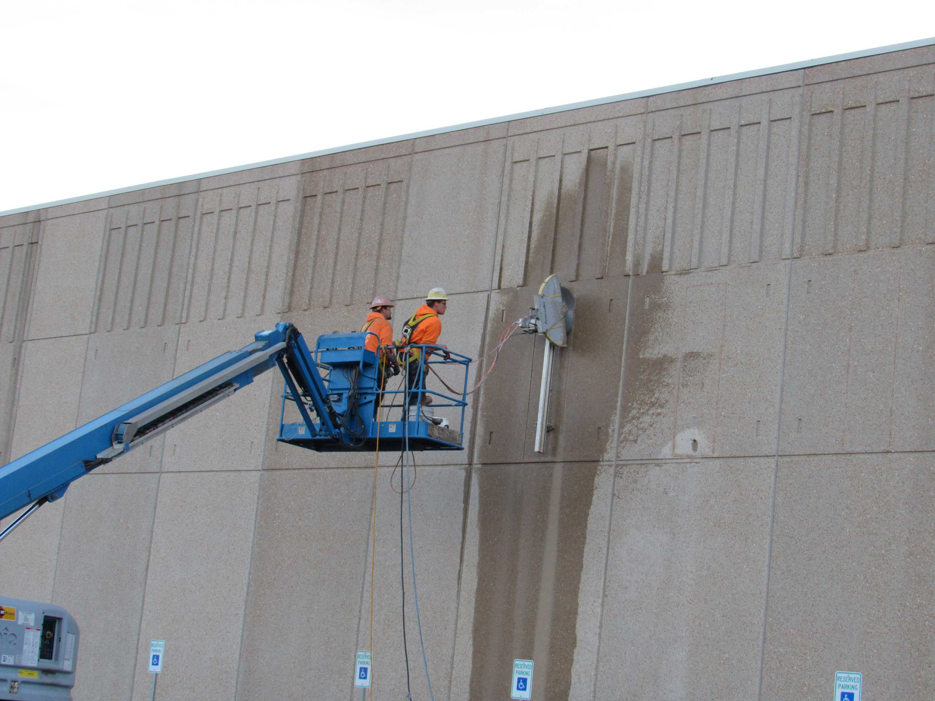 Pacific Concrete Wall Sawing : Concrete wall sawing photos precision cutting and coring