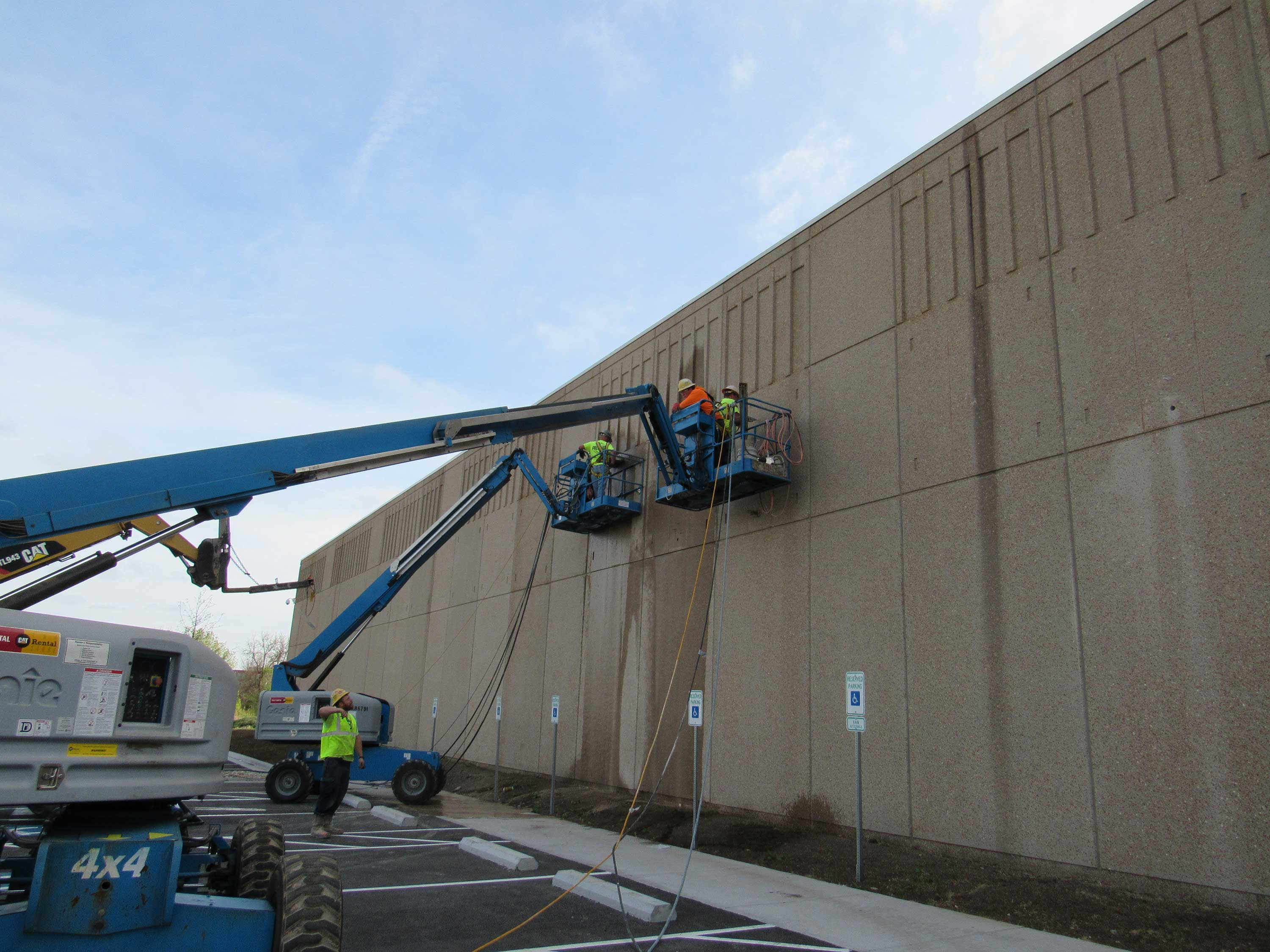 Pacific Concrete Wall Sawing : Concrete wall sawing precision cutting and coring
