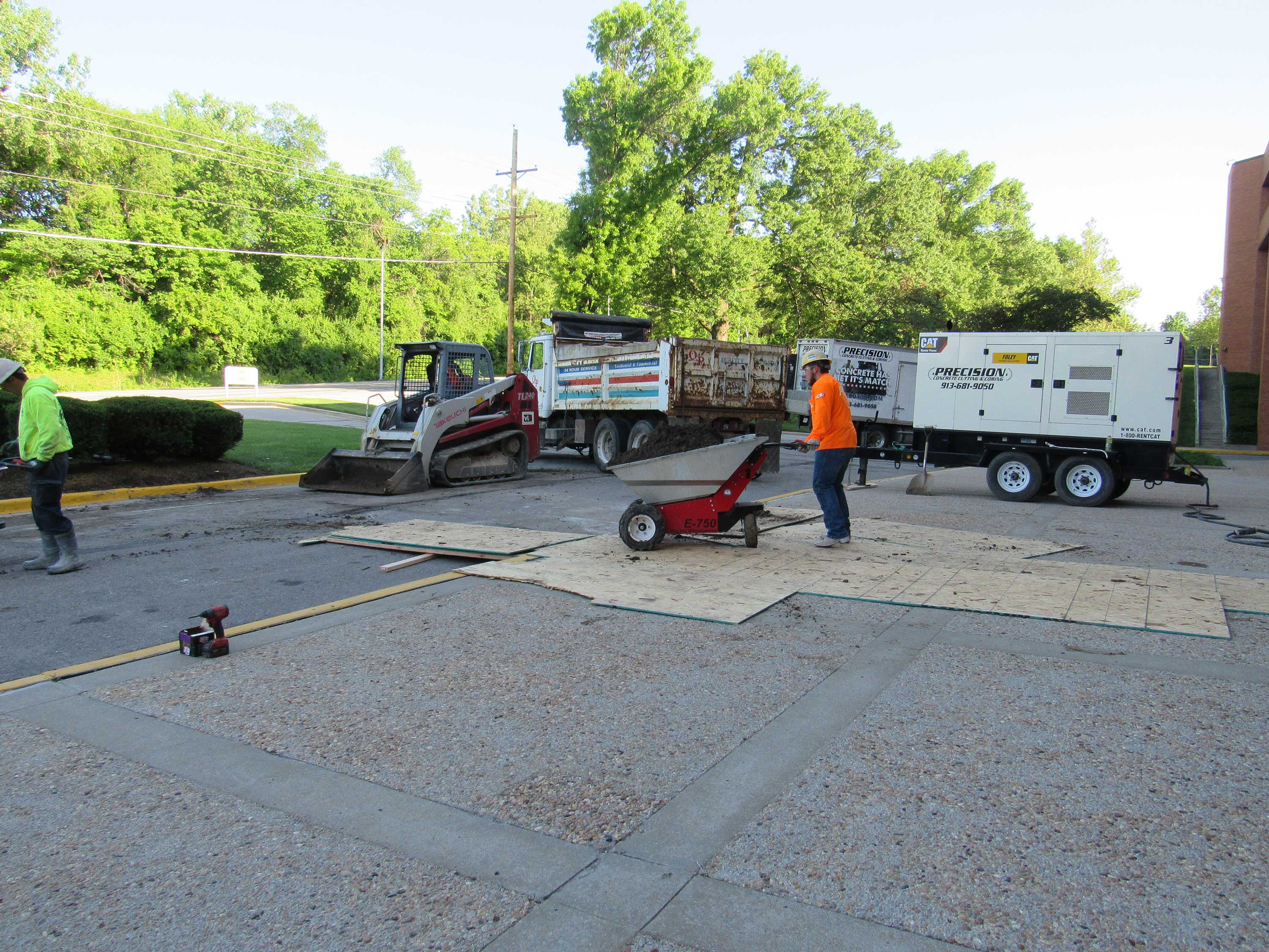 Excavation Services Plumbing : Plumbing excavation precision cutting and coring